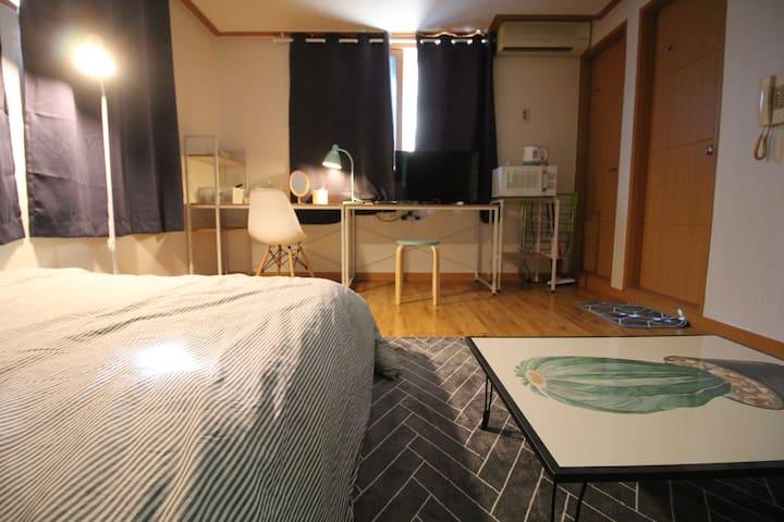 [아름드리]두정동 원룸 #wifi #cosy #4층