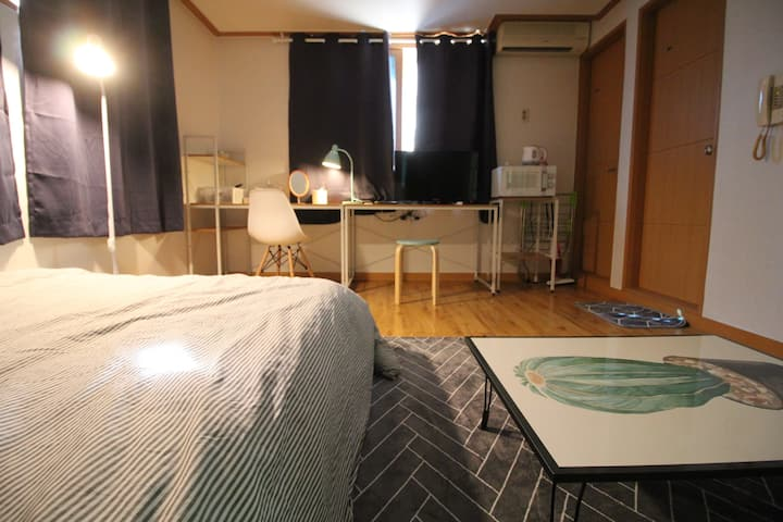 [아름드리]#천안 두정동 원룸#4층#wifi #cosy