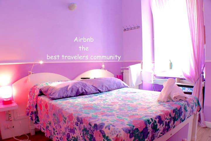 Trastevere Lilac Room