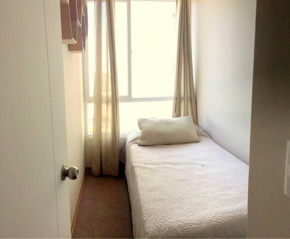Habitación en Moderno Apartamento - Santiago - Bed & Breakfast