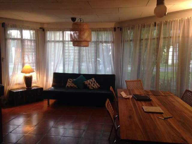 Great house for kids- nature/pool - Pozos - Hus