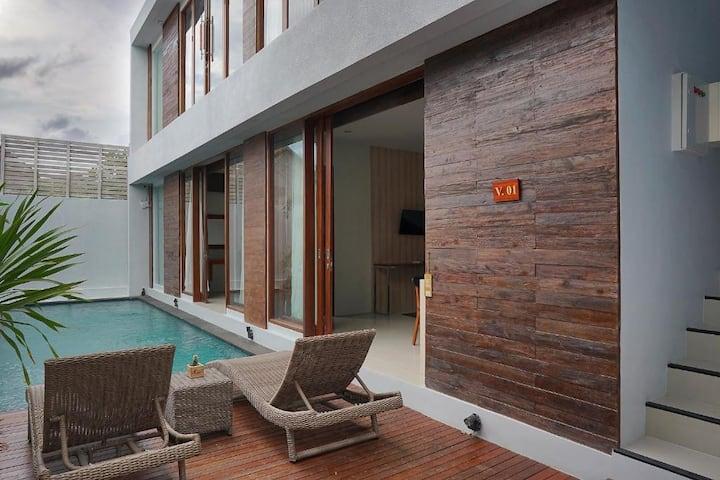 Gili Trawangan Private Villa 1 Bedroom KAma