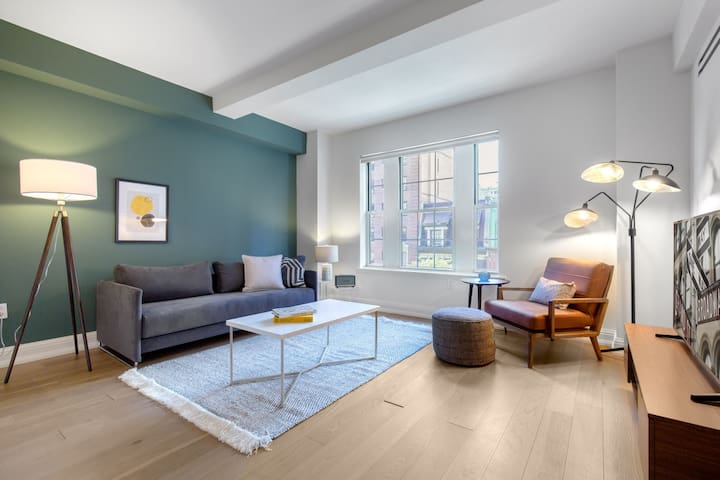 Appointed Upper West Side 1BR w/ W/D, Gym, near Park, by Blueground