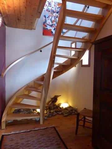 LA MAISON BLEUE - Villar-Saint-Pancrace - Casa