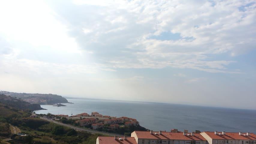 Chambre d'hôte avec vue sur mer (Collioure àCanet)