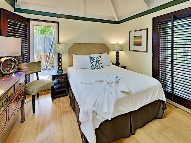 Cozy and bright second guest bedroom
