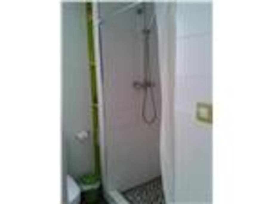 Hot Shower BathRoom