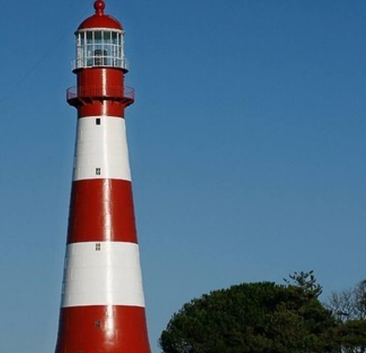 Luz de Faro, alojamiento frente al mar, soñado...