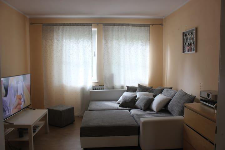 Zimmer/Küche Bad und Balkon nahe Bergpark Kassel
