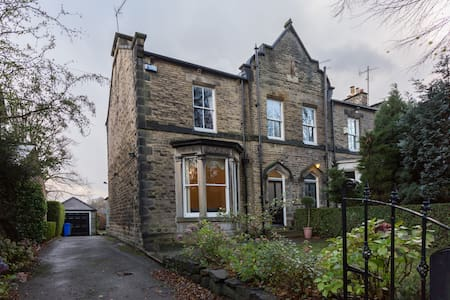 Charming room in Victorian house - Sheffield - Casa
