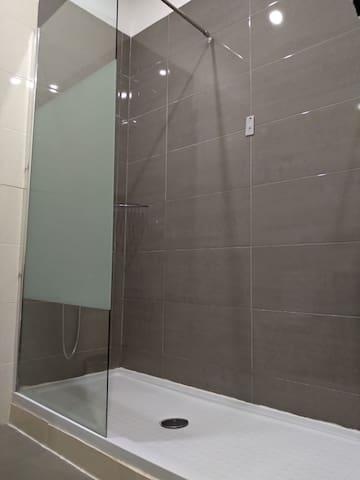 Corridor Bathroom - Shower Detail