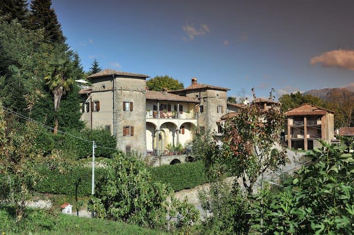 Antica Villa  1636 - Casa Benedetta - Camporgiano frazione Sillicano - Leilighet