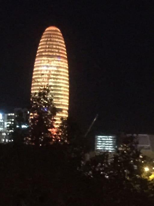Balcony view - Torre Agbar