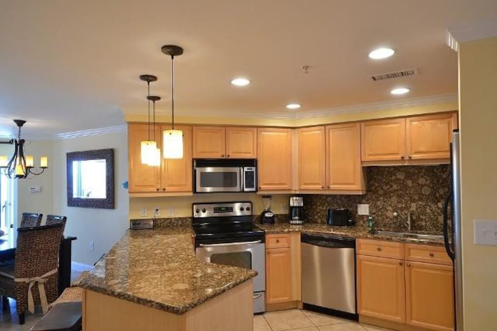 Exquisite Kitchen with Breakf