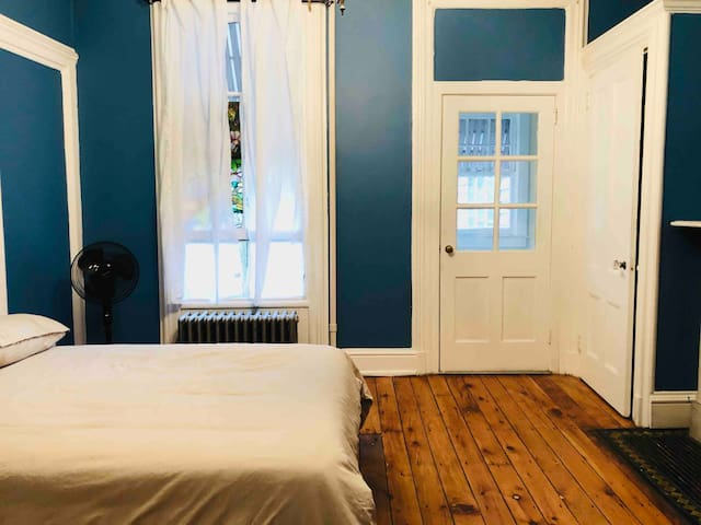 Large room in historic house in Poughkeepsie