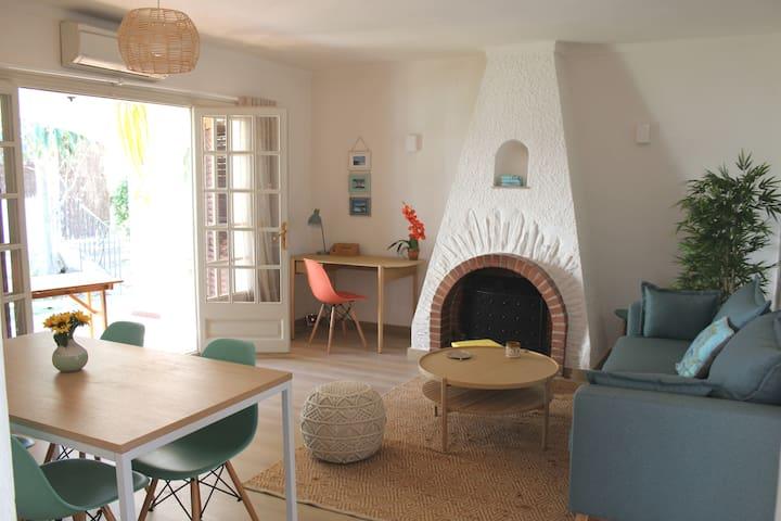 KARIBU HOUSE  acogedora, tranquila y fresca!