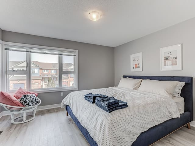 Wow!!! Another KING Sized SEALY POSTUREPEDIC Located In The Third Bedroom!!!