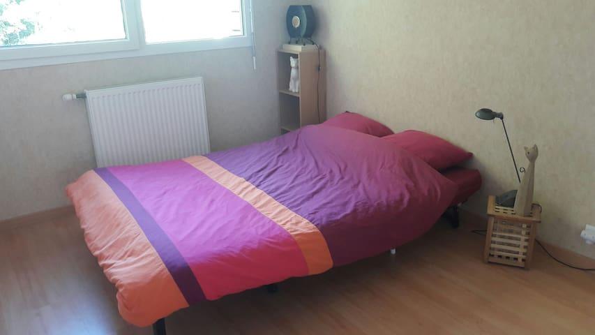 Chambre au calme à côté de Chambéry - La Ravoire - Apartamento