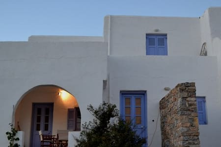 2-story cycladic house in Antiparos-Agios Georgios - Agios Georgios