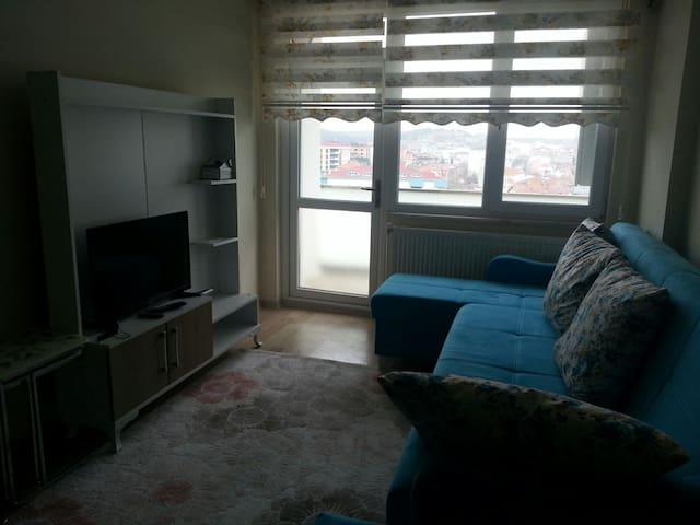 Furnaced 1+1 in luxury site - Çerkezköy - Apartment