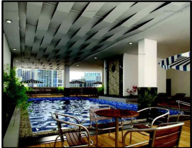 Entire Condo w/ Pool & Gym @ Vista Katipunan
