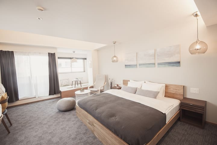 #7 Moonoka hotel モンノカホテル(1DK 部屋45平米)銀座、築地エリア