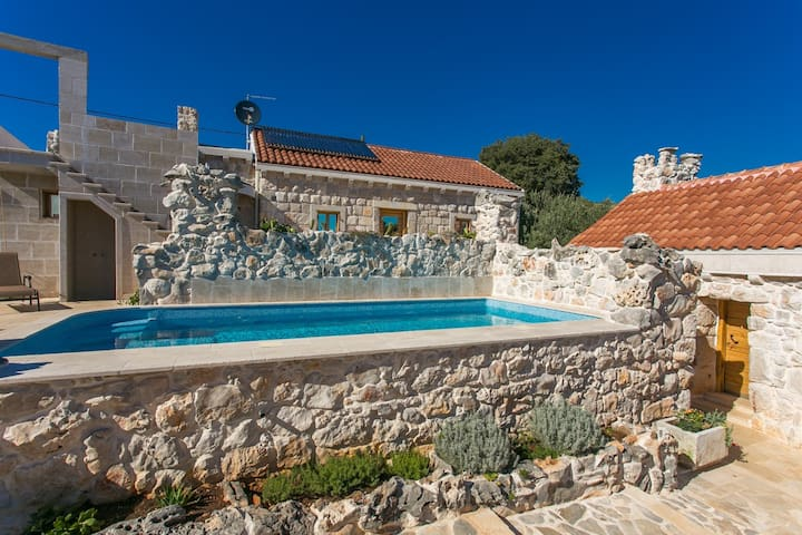 Shoeman´s Villa with pools - Vrsine - Villa