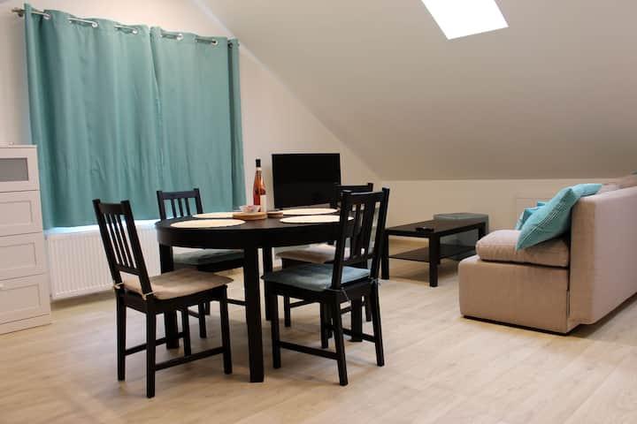 Nově zrekonstruovaný apartmán 301 v podhradí