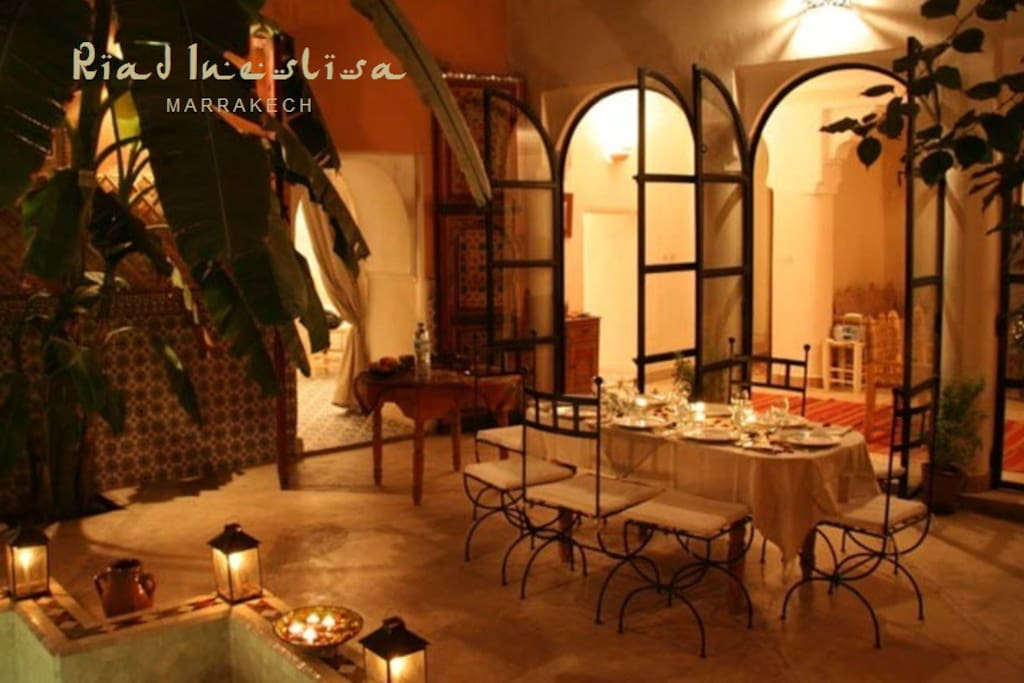 Riad ineslisa 3 welcome at home bed and breakfasts for Airbnb marrakech