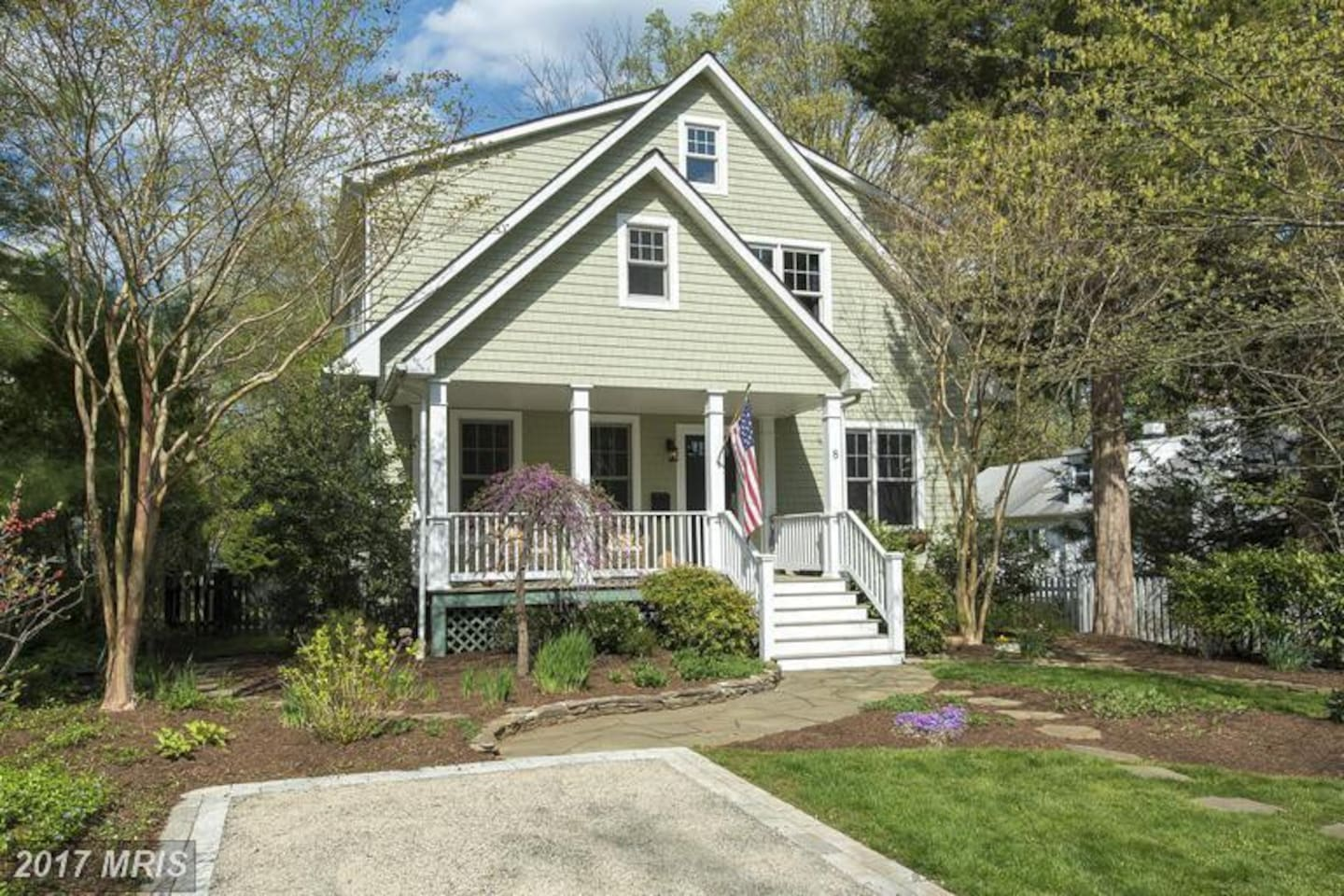 Family home in quaint West Annapolis, just blocks from coffee shop, juice bar and restaurant.