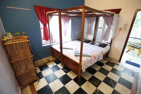 Clean Sunny & Comfy Room in Varkala