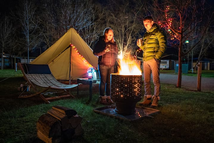 Ovens River Glamping Under The Stars! ~Platypus~