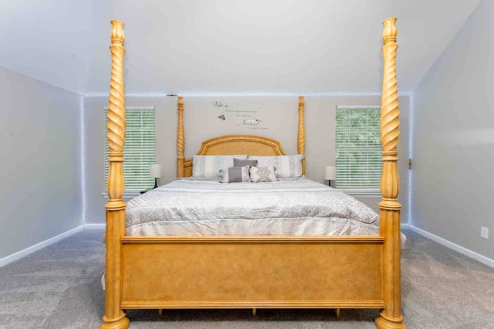 Fit for royalty Master suite