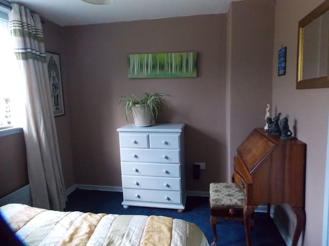 Double room with shared facilities.