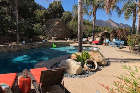 Music Guest House w/ Pool in Mountains of Malibu