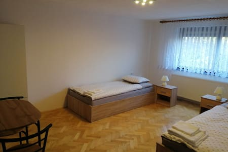 Rooms and apartments Alpinia