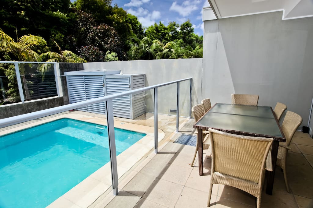 Your very own private plunge pool