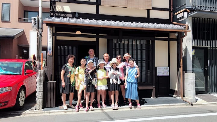 08)京ノ家 安全安心の京町家 1棟貸し 町家住いの体験