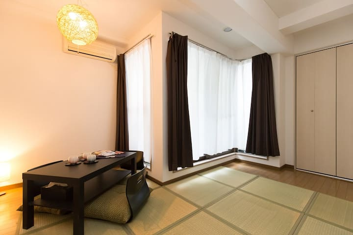 Comfy Studio Apt plusWiFi 5min>STA Easy>NambaUmeda - Chūō-ku, Ōsaka-shi - Lägenhet