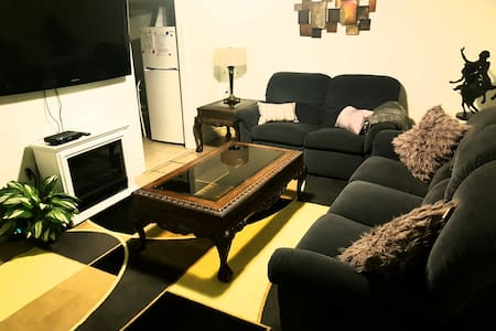 No Cleaning Fee!   Bsmt apartment close to Airport