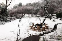 If you're lucky you may wake up to a blanket of snow at Werona!
