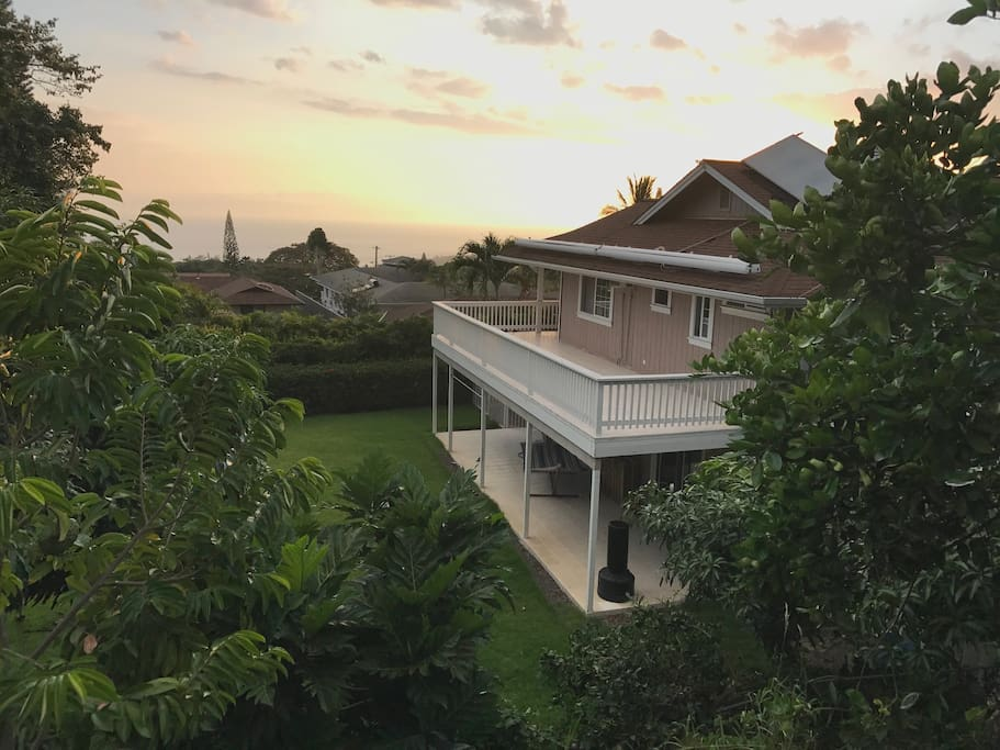 Sundeck and downstairs lanai