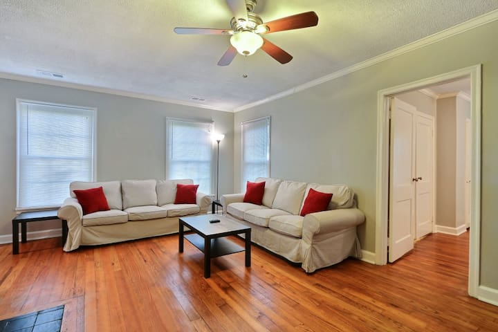 Cozy 4BR/2BA Home Near Historic District-Free Wifi - Savannah
