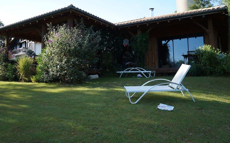 Villa ossature bois au calme - Castets
