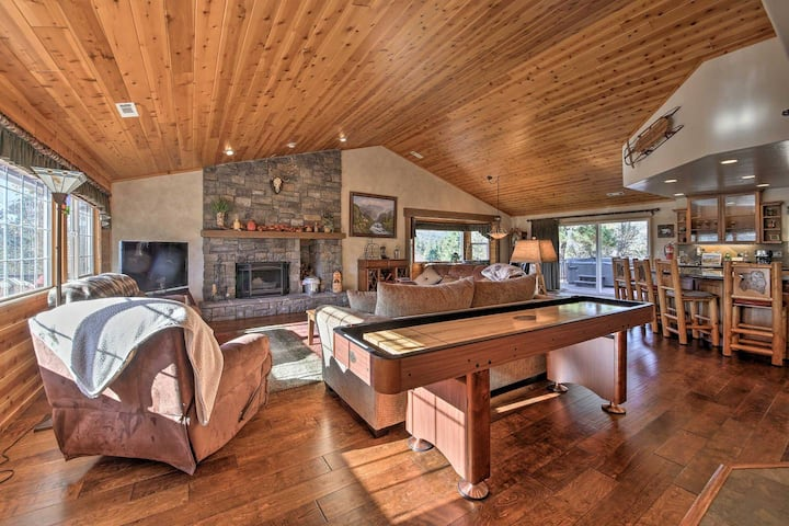Luxury Mountain Retreat in Big Bear-Just Listed