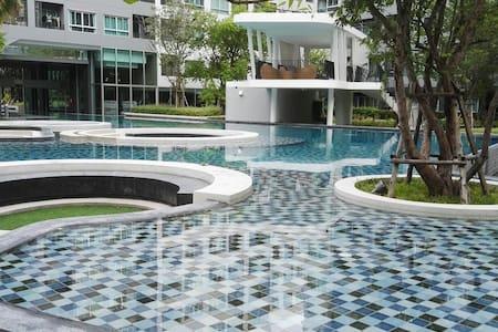 9minBTS@UdomsukSukhumvitBigPoolGym - Bangkok - Wohnung
