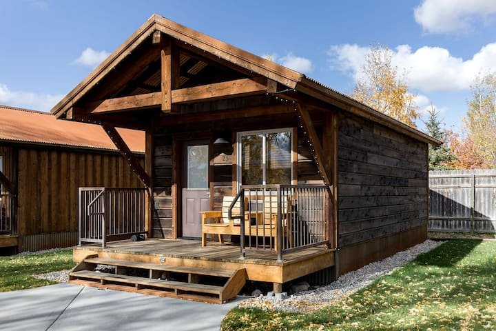 TETON DOUBLE QUEEN CABIN @ Teton Valley Resort