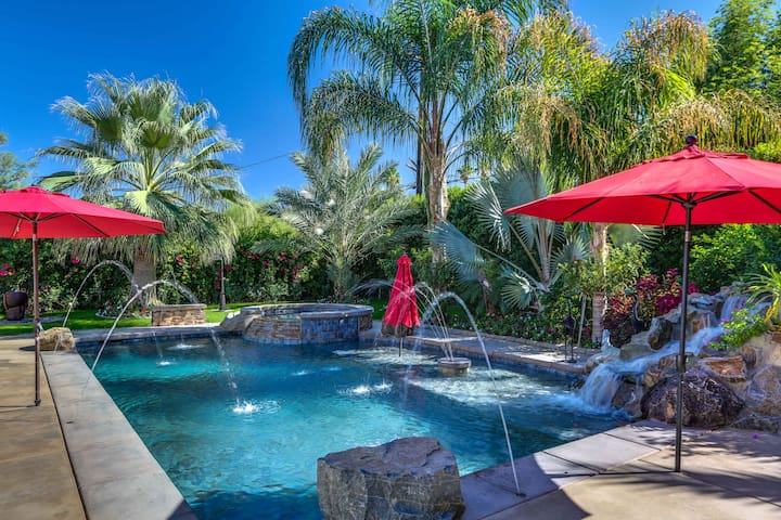 Palm Desert Oasis w/ Backyard Paradise, Pool & Spa