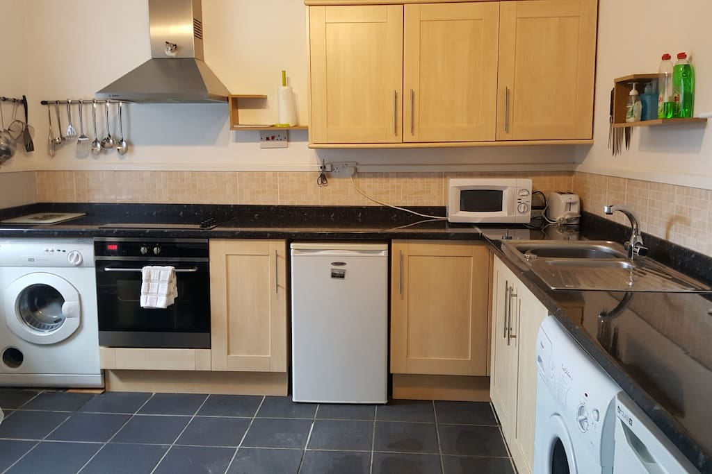 Kitchen - all amenities