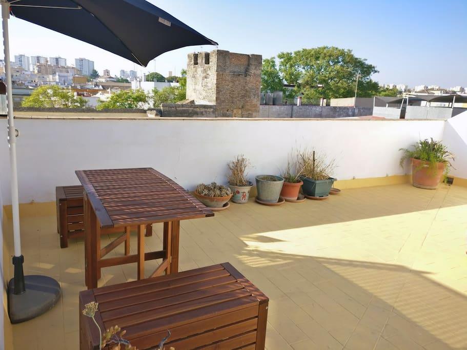 Roof top terrace / Azotea